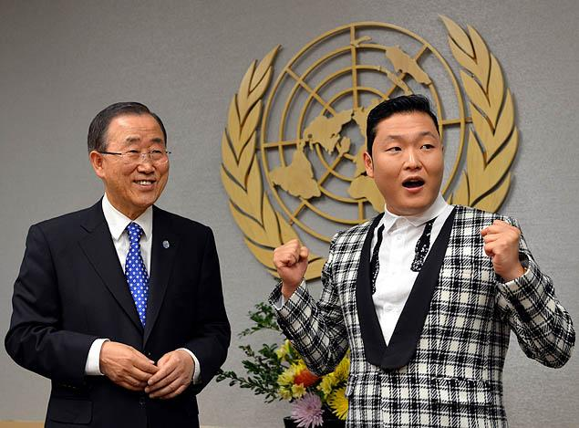 UN Secretary General's 'Gangnam Style'