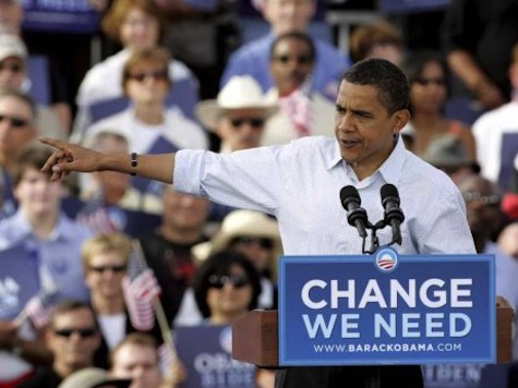 Obama Launches Eight State Campaign Blitz