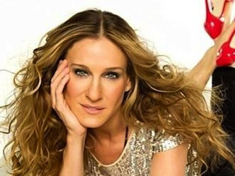 Sarah Jessica Parker Rips Into Romney; Complete With Visual Aid