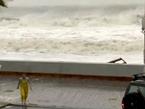 WATCH: Sandy's Waves Pound Maryland Boardwalk