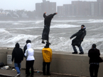 Weather Channel: 'The Wind Is Insane'