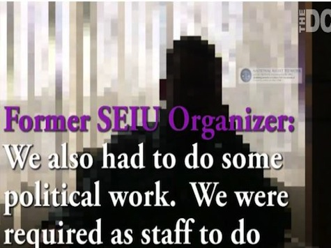 Former SEIU Organizer: I was 'Required' to do 'Political Work' For Democrats