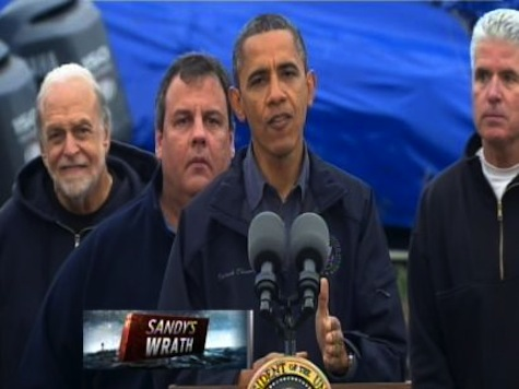 Obama, Chris Christie Hold Press Conference
