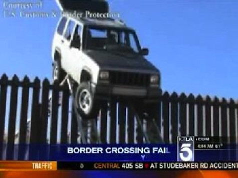 Epic Border Crossing Fail