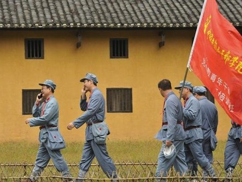 China's Leaders Get Back To Basics At 'Communist Camp'