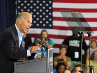 Biden: 'I Wish To Hell They'd Turn This Mic Up'