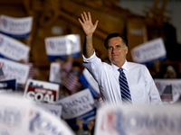 Romney Starts Last Weekend Of Campaign