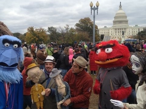 Mediocrity At The Million Muppet March