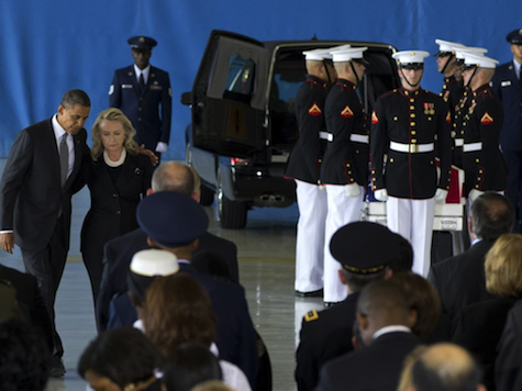 Axelrod Exploits Coffin Arrival As Proof Of Obama's Commitment To Troops