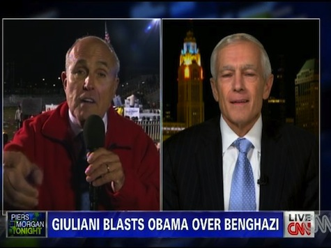 Rudy Giuliani, Wesley Clark Face Off Over Benghazi