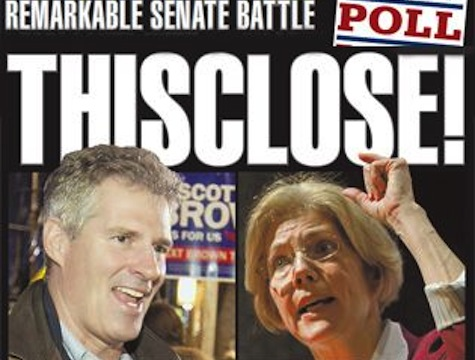 Mass Senate Race Nearly Deadlocked
