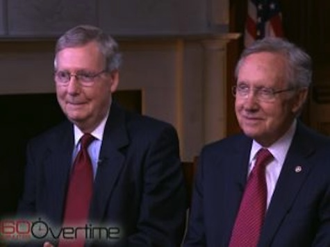 Reid, McConnell Refuse to Even Look at One Another During 60 Minutes Interview