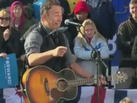 Bruce Springsteen: First Debate Really Freaked Me Out