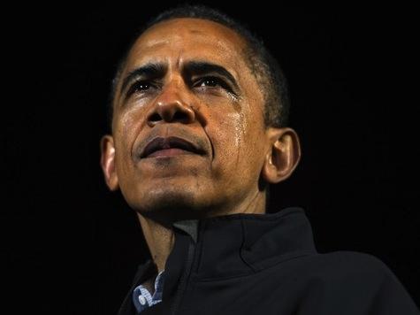 Obama Wipes Tears From Eye During Emotional Iowa Speech