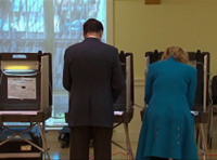 Romney Casts Ballot In 2012 Election