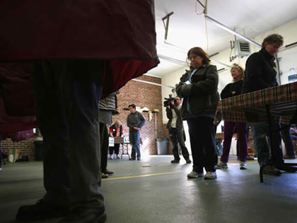 Voters In NY, NJ Not Deterred By Storm's Effects