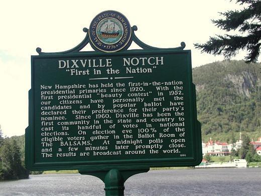 All Tied-Up In Dixville Notch