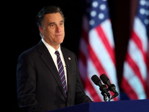 Romney's Short, Classy Concession Speech