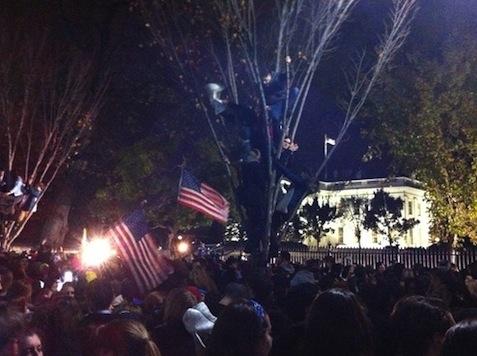 Nation's Capital Jubilant