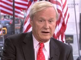 MSNBC's Matthews: 'I'm So Glad We Had That Storm Last Week'