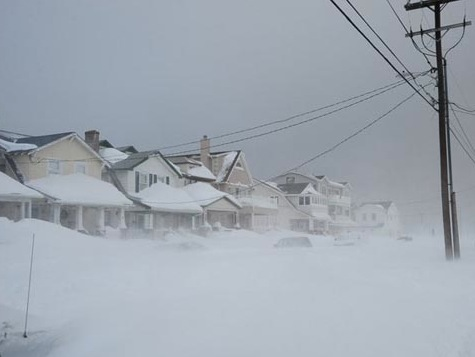 Jersey Hammered With-Snow, Loses Power Again