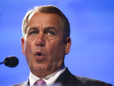 Boehner: 'We Don't Have a Tea Party Caucus'