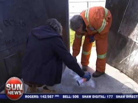 Toronto War Memorial Vandalized: 'Canada Will Burn, Praise Allah'