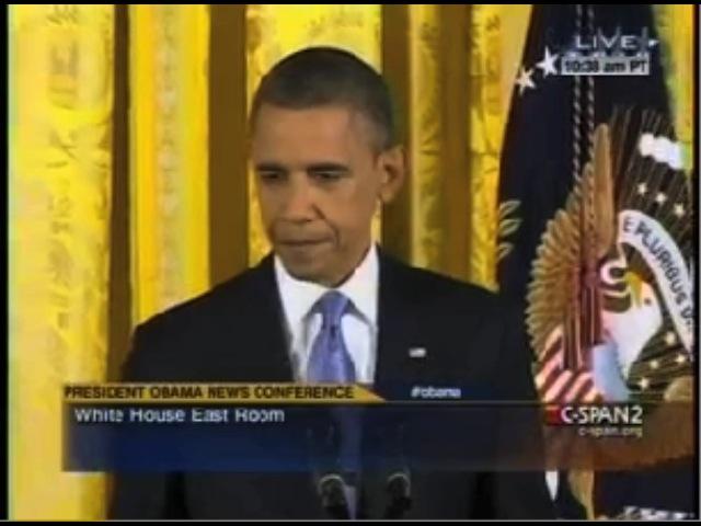 Obama Presser: AP Comes Out Swinging, President Dodges