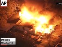 Plane Crashes Into Mississippi Home