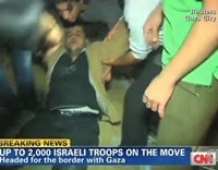 Fraud: CNN Uses Video Footage Of Faked Palestinian 'Injuries'