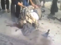 Video Shows Hamas Military Leader's Body After Bomb Attack