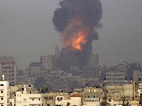 Hamas HQ Reduced To Rubble