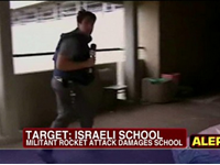 Watch: Fox Reporter Runs For Cover During Attack In Israel