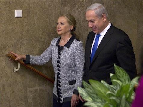 Clinton Meets Netanyahu Over Gaza Conflict