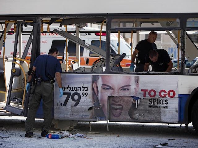 Bus Explosion Rocks Tel Aviv