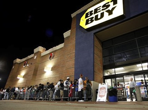Shoppers Kick Off Black Friday