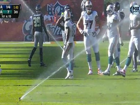 Sprinklers Activated In Middle Of Dolphins-Seahawks Game