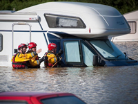 Britain Pounded With Severe Storms, Flooding