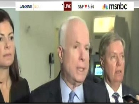 John McCain 'Significantly Troubled' After Susan Rice Meeting
