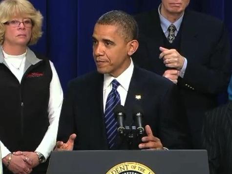 Obama: I Know My Tax Hike Rhetoric Sounds Like I'm Campaigning