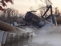 Train Carrying Chemicals Derails In NJ