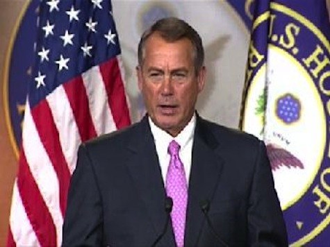 Boehner: Negotiations 'Almost Nowhere' On Fiscal Cliff