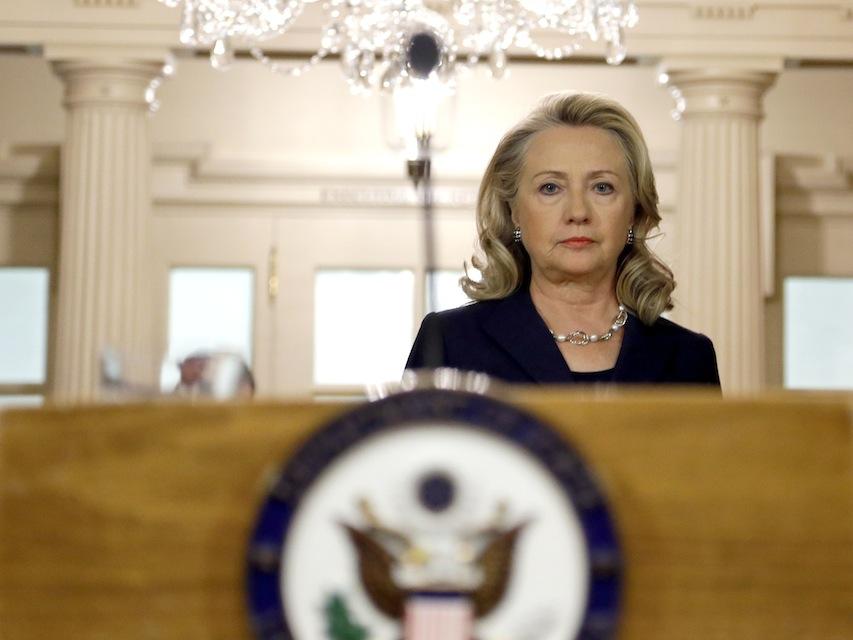 Clinton: UN Palestine Vote 'Counterproductive'