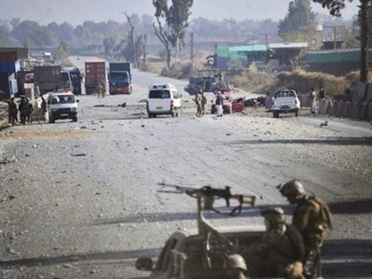 Taliban Suicide Bombers Attack US Air Base in Afghanistan