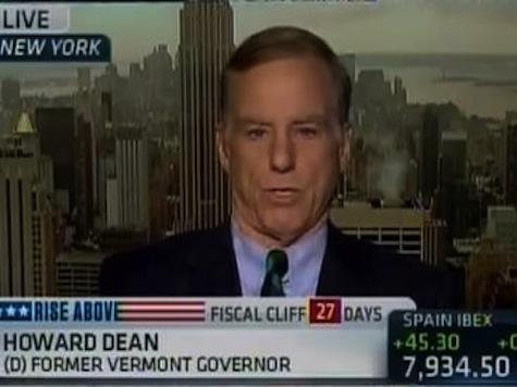 Howard Dean: Go Over 'Fiscal Cliff'