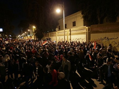 Egypt Protesters March On Palace