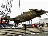 World War II Plane Pulled From Lake