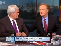 O'Donnell Tries To Sandbag Gingrich On Meet The Press