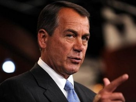 Boehner On Fiscal Cliff: 'Washington Is Broke'