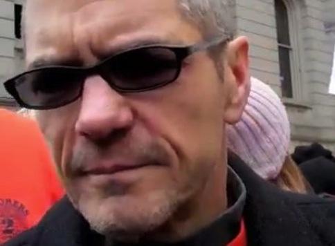 Former Dem Congressmen Pepper Sprayed During Union Protest